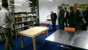 De Bibliotheek Kamer : Netwerken aangehaald in blauwe kamer van bibliotheek aanzet reeland
